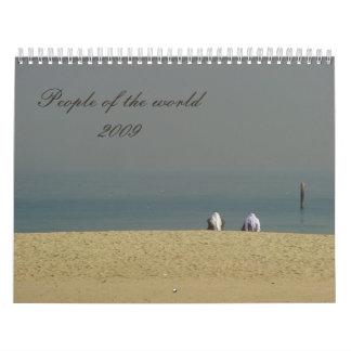 People of the world2009 calendars