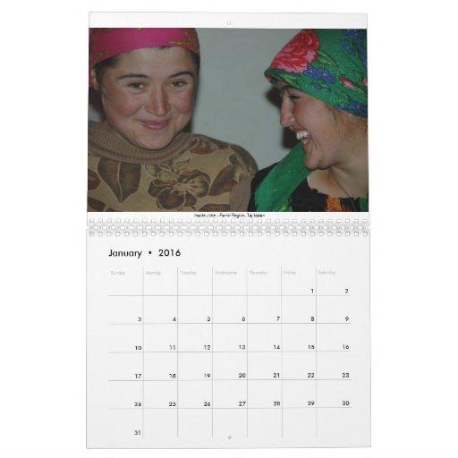 People of the World Calendar