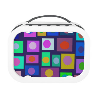 People of the World Dark Background Blue Hue Lunchbox
