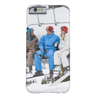 People on Ski Lift, Whistler-Blackcomb, British iPhone 6 Case