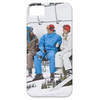 People on Ski Lift, Whistler-Blackcomb, British iPhone SE/5/5s Case