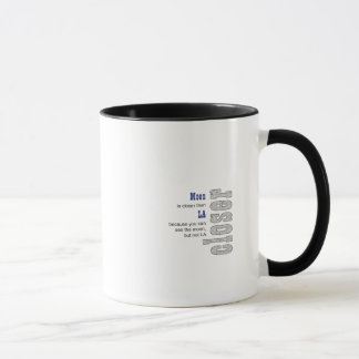 People On The Moon Mug