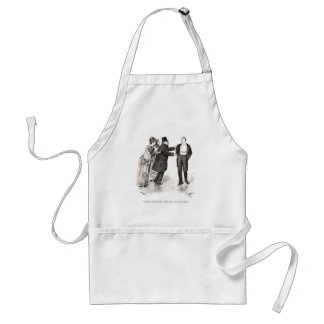 People One Knows Take One For A Butler Adult Apron