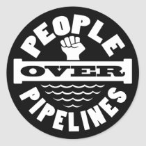 People Over Pipelines Sticker