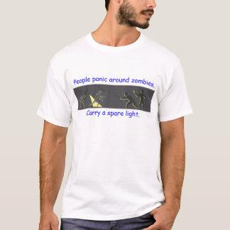People Panic Around Zombies T-Shirt
