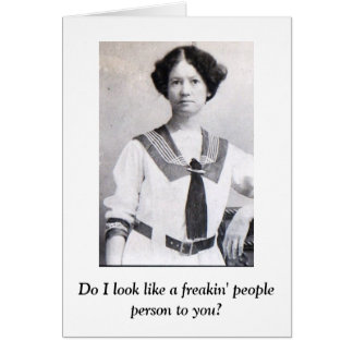 People Person Card