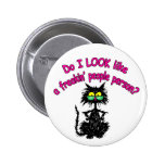 PEOPLE PERSON PINBACK BUTTON