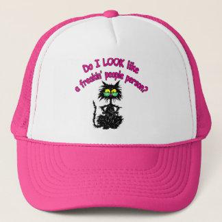 PEOPLE PERSON TRUCKER HAT