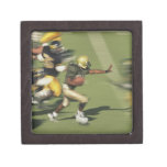 People playing football premium jewelry boxes