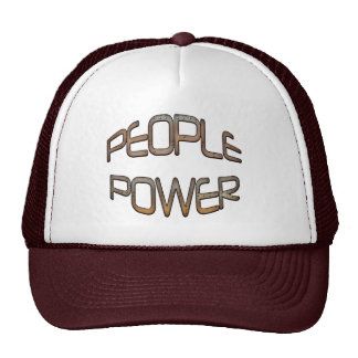 People Power Independence Motivation Cap Trucker Hat