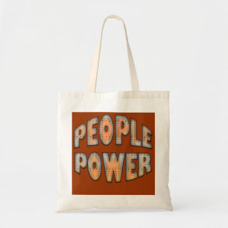People Power Independence Motivation Gift Tote Bag