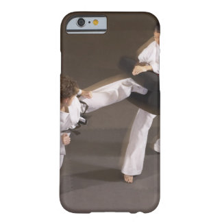 People practicing Tae kwon do Barely There iPhone 6 Case