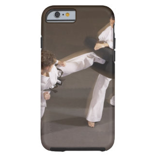 People practicing Tae kwon do Tough iPhone 6 Case