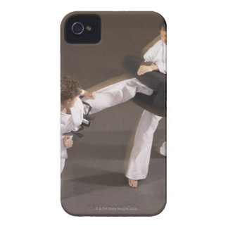 People practicing Tae kwon do Case-Mate iPhone 4 Case