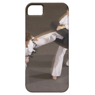 People practicing Tae kwon do iPhone SE/5/5s Case