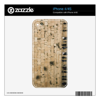People praying at the wailing wall iPhone 4S decal