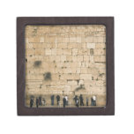 People praying at the wailing wall premium gift box