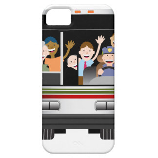 People Riding on a Bus iPhone SE/5/5s Case