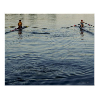 People Rowing Posters