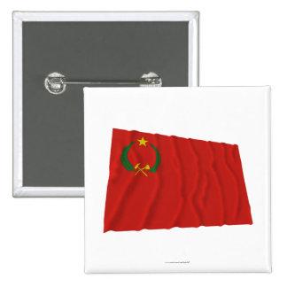 People s Republic of Congo Waving Flag 1970-1992 Pin
