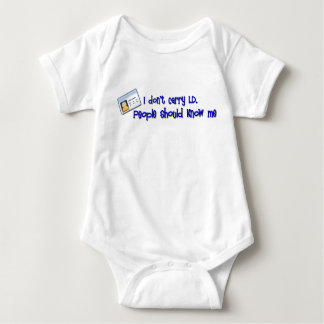 People Should Know Me Baby Bodysuit
