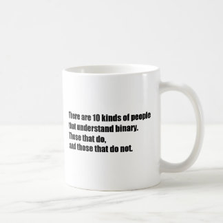 People that understand binary coffee mug