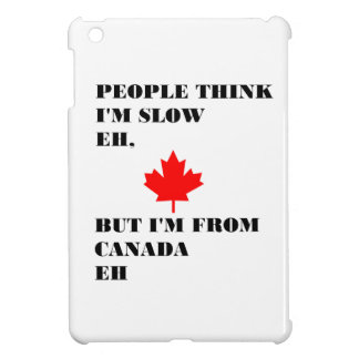 People think I'm slow eh Cover For The iPad Mini