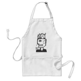 People Thoughts Adult Apron