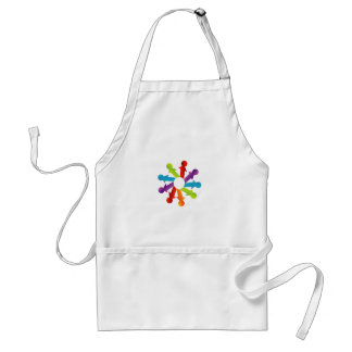 People together showing unity adult apron