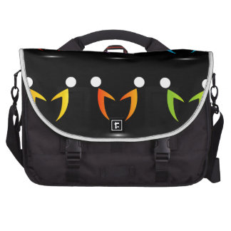 People together showing unity laptop bags