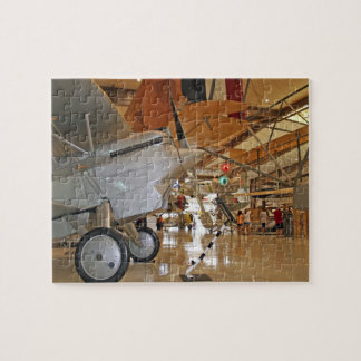 People touring National Museum of Naval Aviation Jigsaw Puzzle