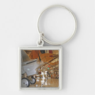 People touring National Museum of Naval Aviation Keychain