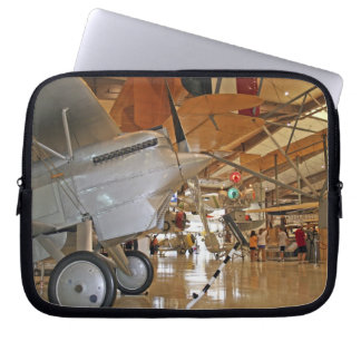 People touring National Museum of Naval Aviation Laptop Sleeves