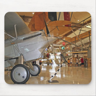 People touring National Museum of Naval Aviation Mouse Pad