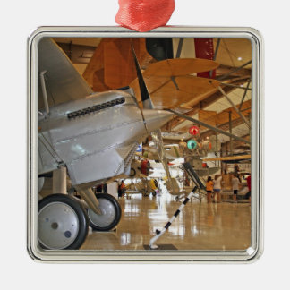 People touring National Museum of Naval Aviation Ornament