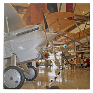 People touring National Museum of Naval Aviation Tile