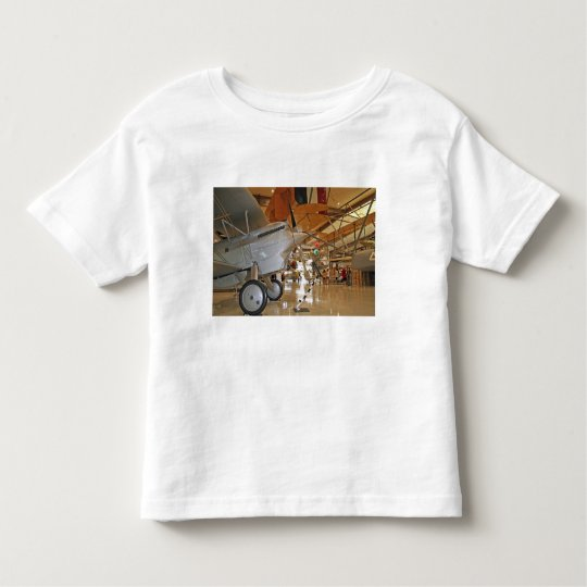 People touring National Museum of Naval Aviation Toddler T-shirt