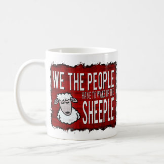 People Wake up Sheeple Coffee Mug