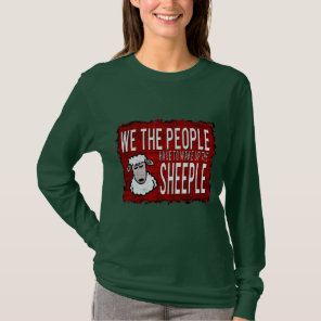 People Wake up Sheeple T-Shirt