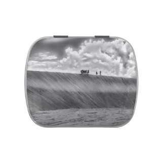 People Walking at Dune Jericoacoara Brazil Candy Tin