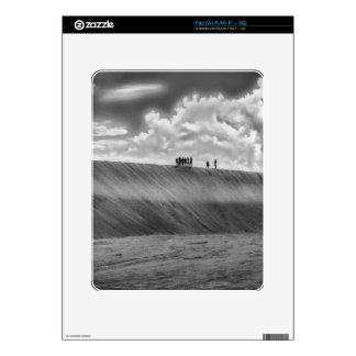 People Walking at Dune Jericoacoara Brazil iPad Decals