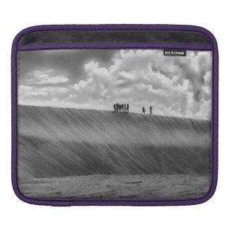 People Walking at Dune Jericoacoara Brazil iPad Sleeve