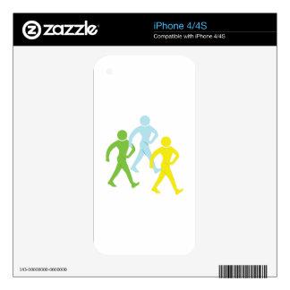 People Walking iPhone 4S Skin