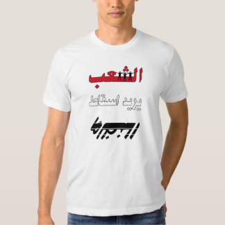 people wants the regime down t shirt