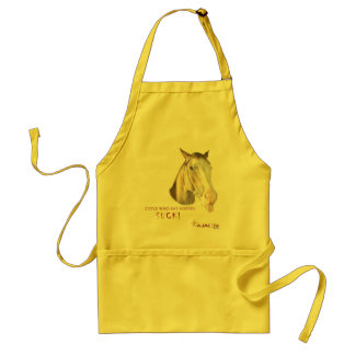 people who eat horses suck adult apron