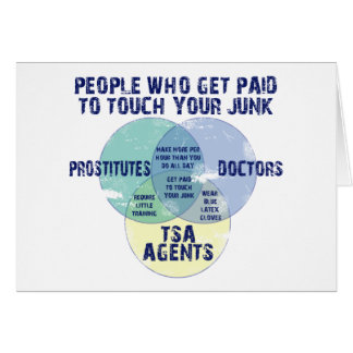 People Who Get Paid To Touch Your Junk! Card