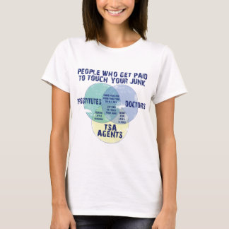 People Who Get Paid To Touch Your Junk! T-Shirt