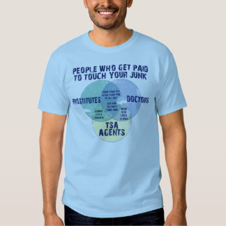 People Who Get Paid To Touch Your Junk! T-shirts