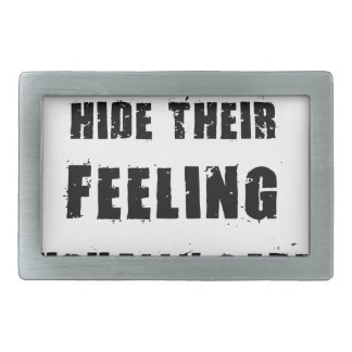 people who hide their feeling usually care most belt buckle