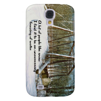 People who like snow samsung galaxy s4 case
